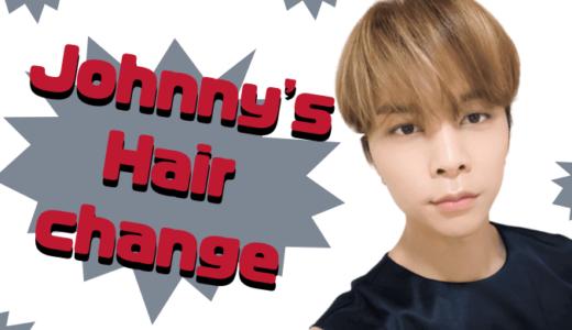 nct127 ジャニが髪の毛をカット♡