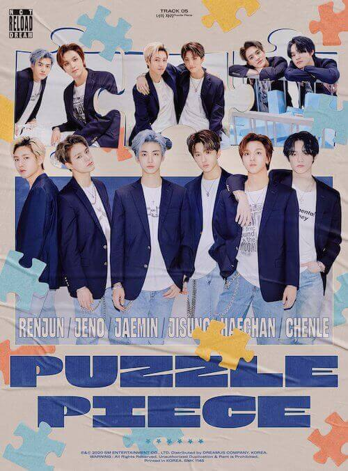 nctdream _너의자리_PuzzlePiece