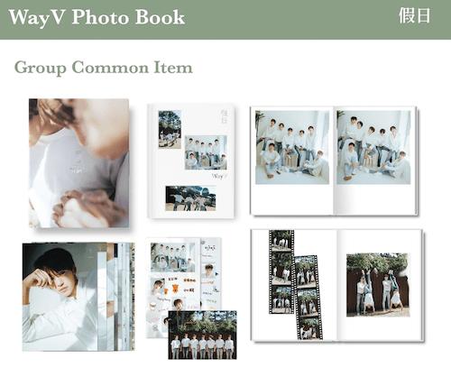 wayv photobook