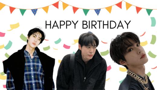 NCT ドヨンお誕生日おめでとう!HAPPY BIRTHDAY★ウリ真面目ウサギさん♡