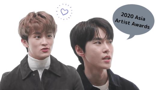 NCT『2020 Asia Artist Awards』ドヨン、マークが語る大賞受賞の感想