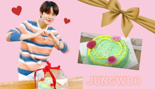 NCT127 ジョンウのかわいいケーキ作り♡喋り方がチャーミングすぎるジョンウママ、そしてジョンウの涙。